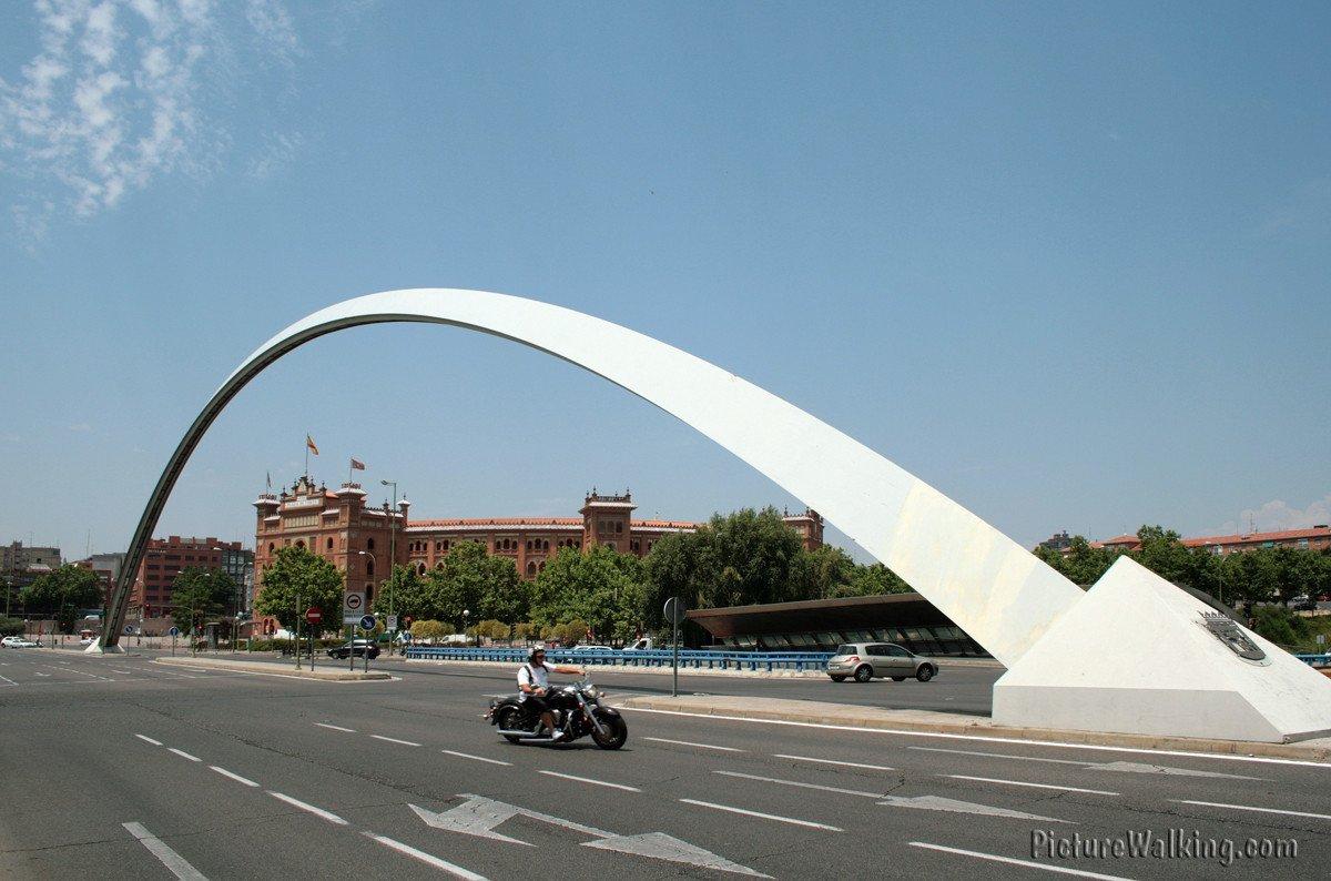 M30, Alcalá Street Arch, and Las Ventas Bullring