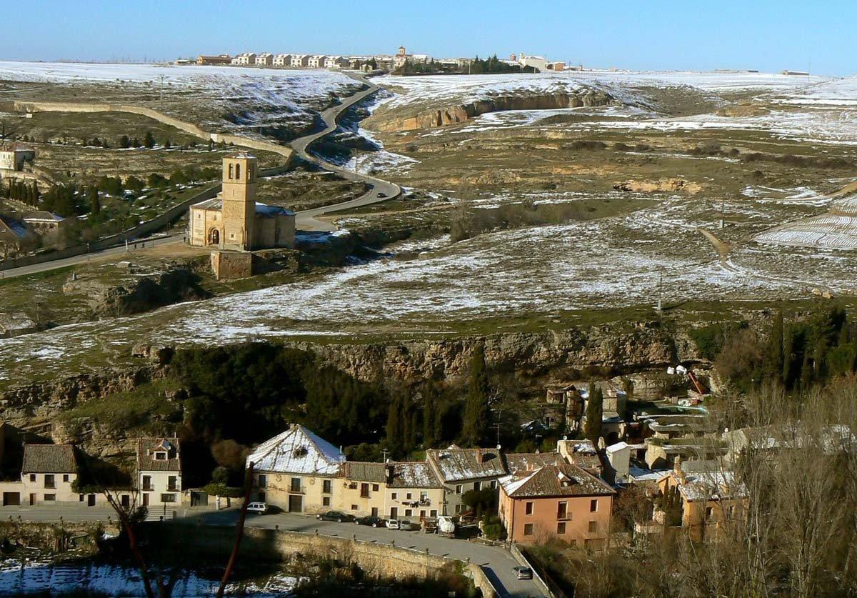 Vista desde el Alcazar de Segovia