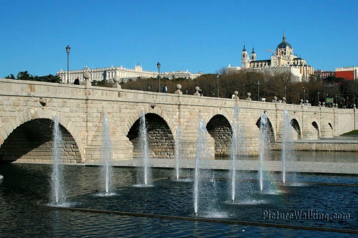 Madrid Río Puente de Segovia