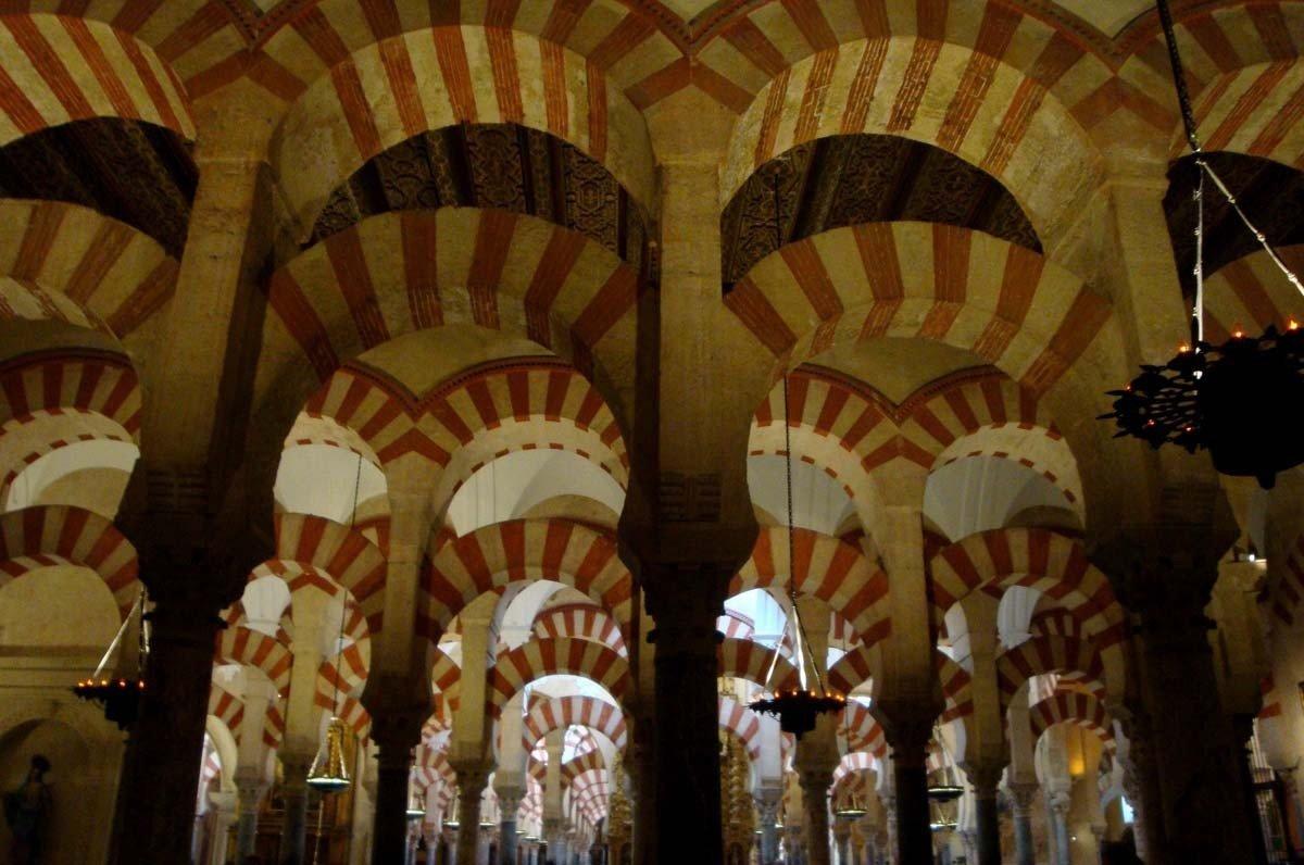 Arcos de la Mezquita de Córdoba