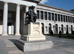 Estatua a Velázquez en El Museo El Prado