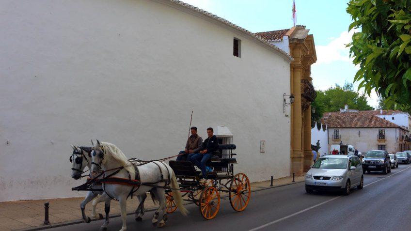 Exterior Plaza de Toros de Ronda, Andalucía